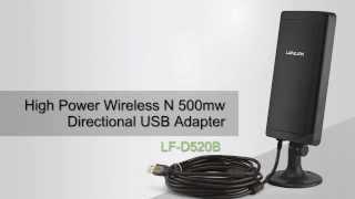 lafalink lf d520b high power wireless usb wifi adapter wi fi long range