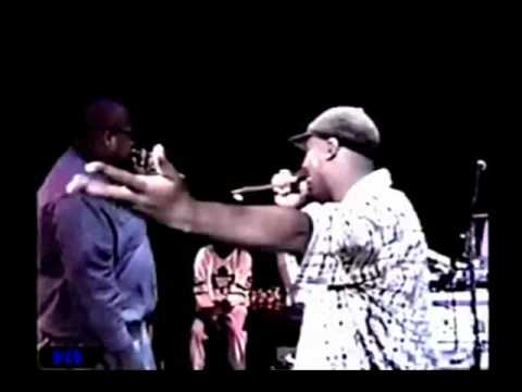 Return Of The Crooklyn Dodgers Performing  At The Clockers Premiere Party 1995