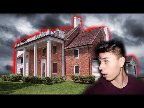 EXPLORING A HAUNTED SLAVE HOUSE!
