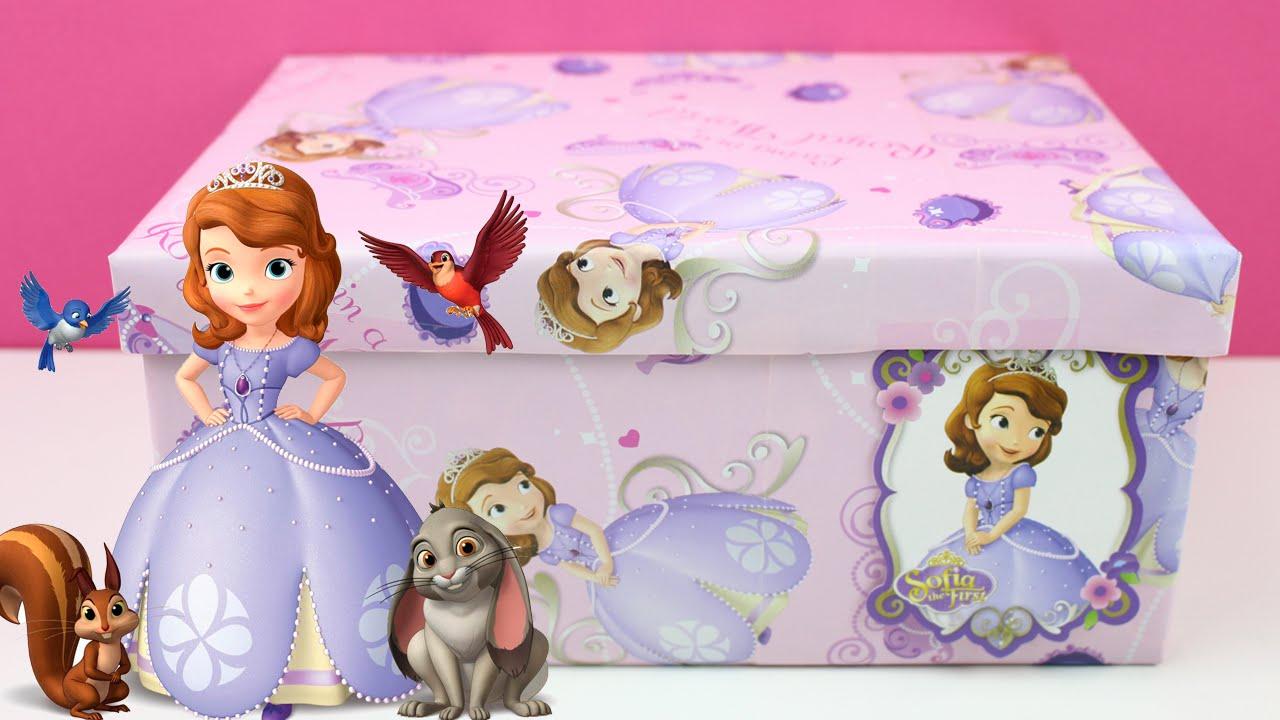 1d9273e17 Princesa Sofia en español Caja Sorpresa | Juguetes Princesita Sofia | Sofia  the first unboxing - YouTube