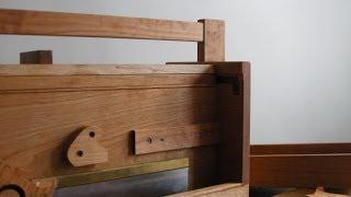 A Cabinetmaker's Toolchest Part Thirteen: Final Details.