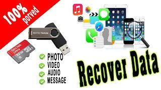 How to Recover Data Files from a Deleted/Formatted Pen Drive or Memory Card (Step By Step)