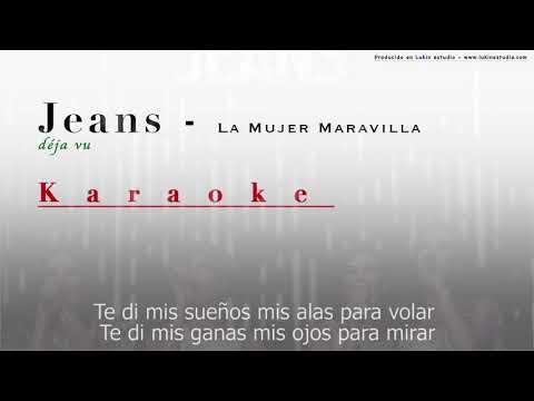 La mujer maravilla - Jeans - [Karaoke]