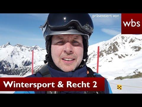 Recht beim Skifahren - Helmpflicht & FIS Regeln - Teil 2 | Rechtsanwalt Christian Solmecke