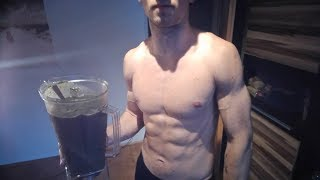 RAW VEGAN ATHLETE FULL DAY OF EATING (Low Budget!!) // Full body home workout!!