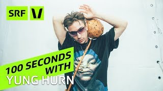 Yung Hurn: So ein Interview haben wir noch nie erlebt! || 100 Sekunden mit dem Wiener Rapper
