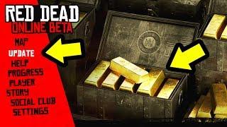 FREE GOLD in Red Dead Online! NEW Red Dead Online Update! RDR2 Online Money Exploit & Gold Glitch