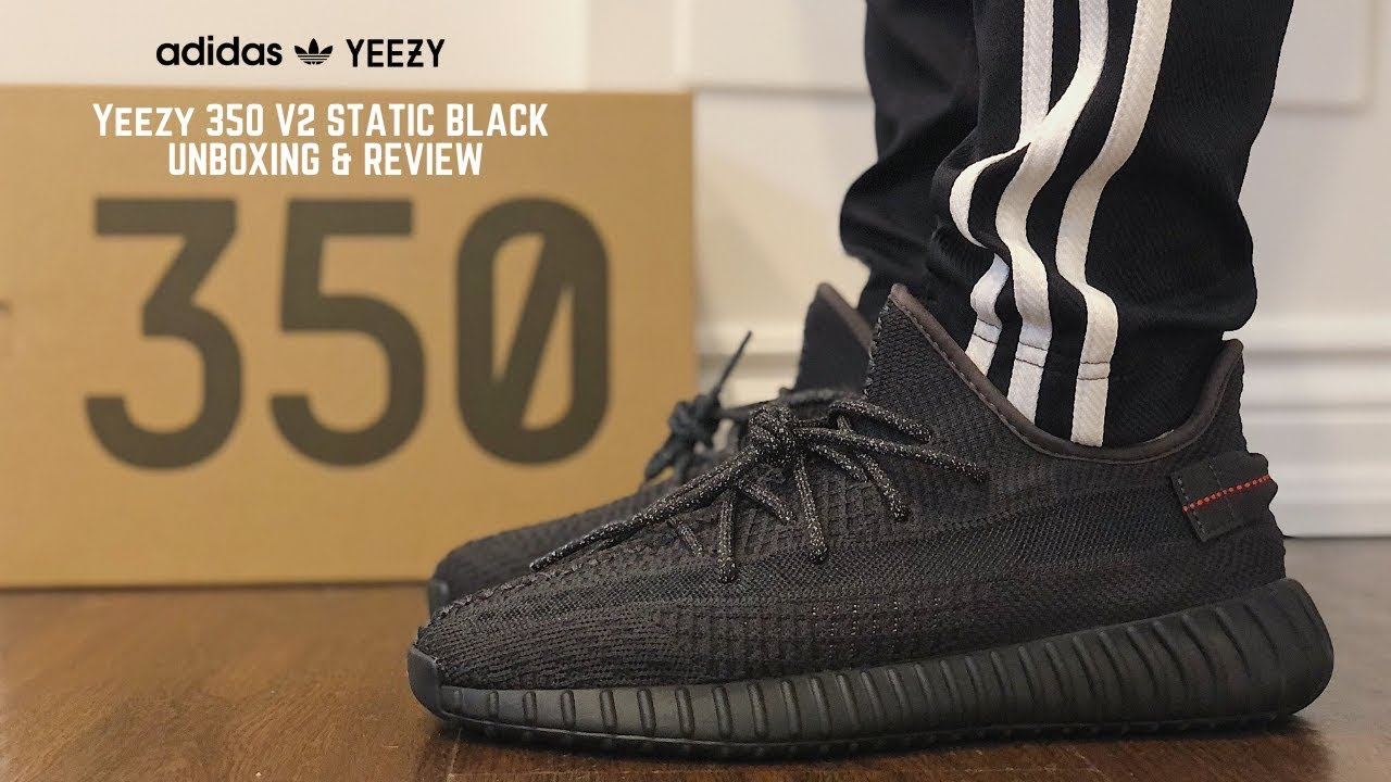yeezy static black 350