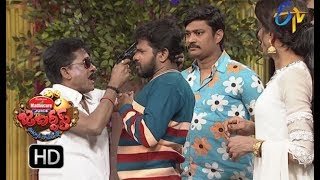 Hyper Aadi, Raising Raju Performance | Jabardasth | 28th December 2017  | ETV  Telugu