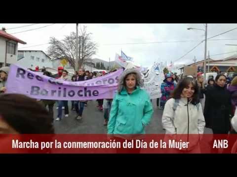 Marcha conmemoración del Día de la Mujer - YouTube