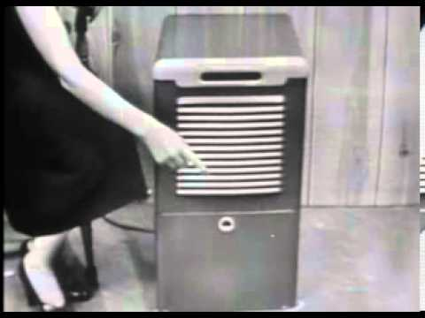 VINTAGE 1953 WESTINGHOUSE DEHUMIDIFIER -  NOT ANOTHER ONE OF THOSE HUNDREDS OF DEHUMIDIFIER ADS