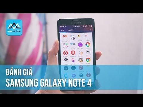 Có nên mua Samsung Note 4 Hàn Cũ hay không?