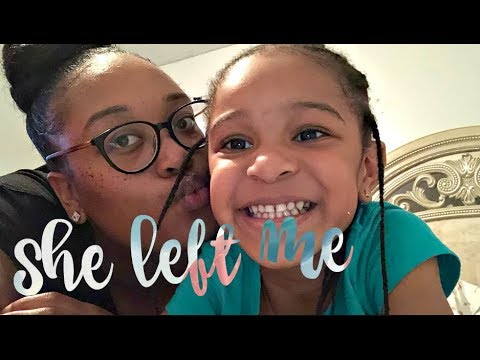 """She left ME"" 