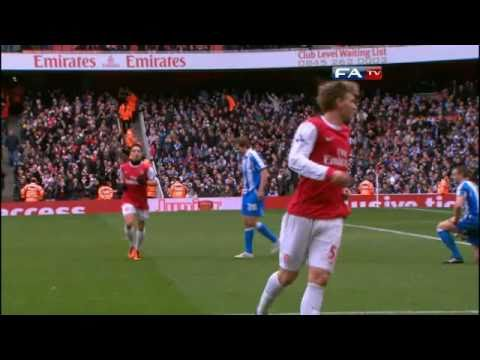 Arsenal 2-1 Huddersfield | The FA Cup 4th Round - 30/01/11