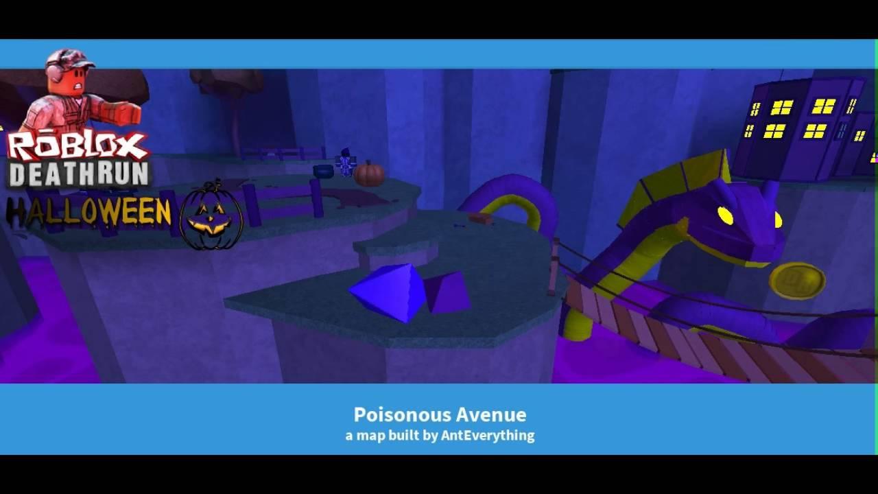 Posionous Avenue Roblox Deathrun Halloween Music Soundtracks