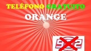 TELEFONO GRATUITO ORANGE
