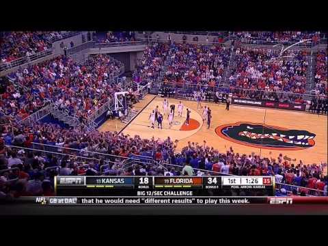 2013 Florida vs Kansas Basketball 720p x264