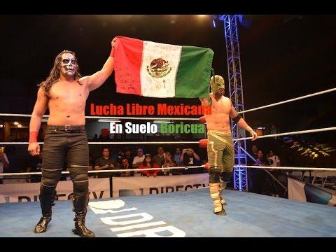 HIGHLIGHTS: Lucha Libre Mexicana en suelo Boricua - YouTube