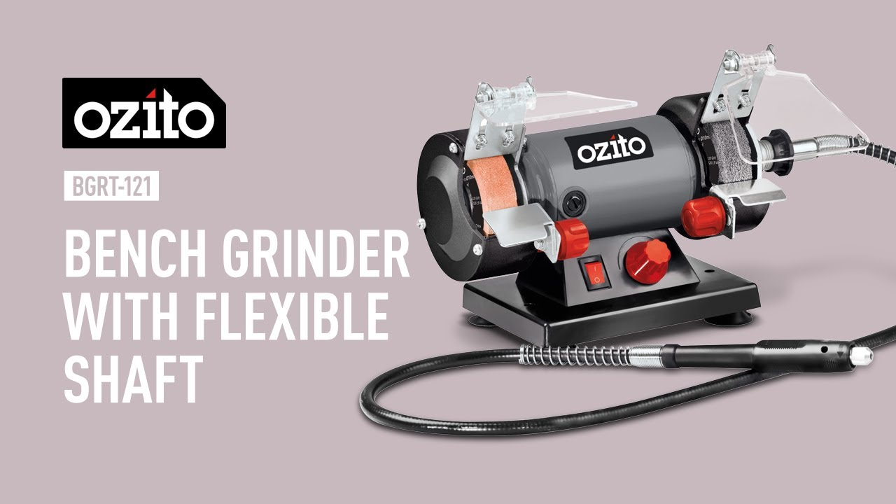 Ozito 120w Bench Grinder With Flexible Drive Product