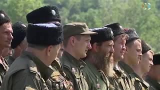 Казаки отметили третью годовщину создания Севастопольского казачьего округа