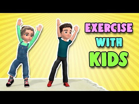 Exercise With Kids: Active Physical Workout