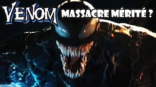VENOM mérite-t-il ce massacre critique ?