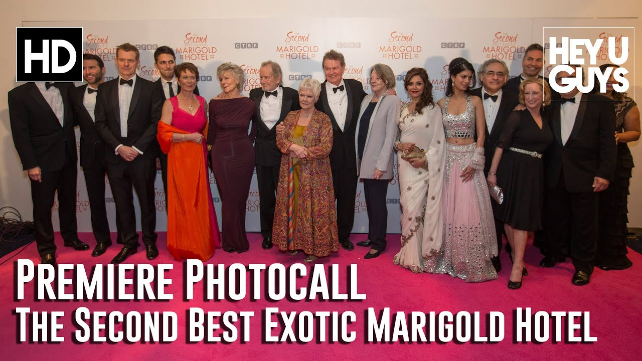 Download The Second Best Exotic Marigold Hotel - Fun Photocall