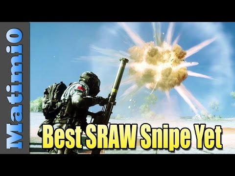 Best SRAW Snipe Yet - Double Vision - Battlefield 4