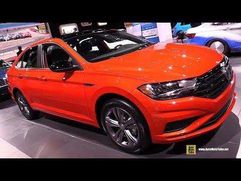 2019 Volkswagen Jetta R-Line - Exterior and Interior Walkaround - 2018 LA Auto Show