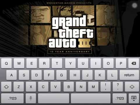 GTA 3 Keyboard Hack IOS