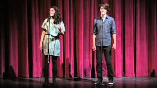 "Sarah Kay & Phil Kaye ""An Origin Story"""