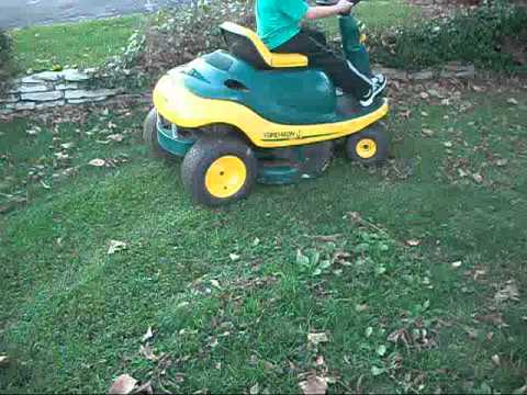 how to start a scotts bonnar ride on mower