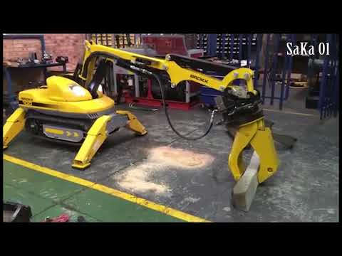 Awesome Modern Machines Robotic Demolition Equipment Technology  Compilation #HD720p TSKA01