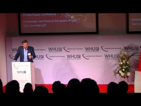 Max Cartellieri's Speech at the WHU Private Equity Conference 2015
