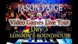 Jason Paige- Games Live Tour-Day Three-London's Roundhouse