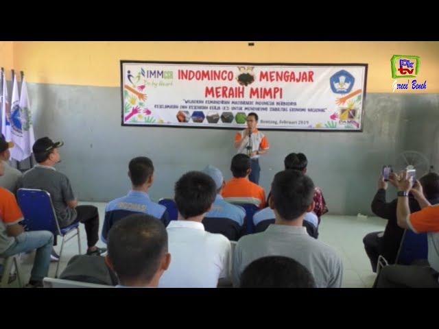 INDOMINCO MENGAJAR SAMBANGI SMK NUSANTARA MANDIRI