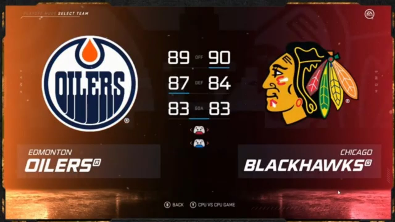 Chicago Blackhawks, Edmonton Oilers face off in game 3 of ...