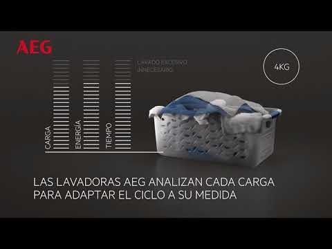 Tecnología ProSense® de AEG: Ahorra tiempo, agua y energía