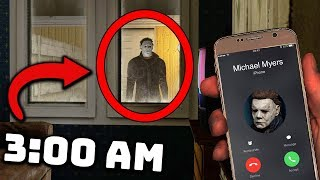 I Called the REAL Michael Myers on Facetime at 3:00 AM... (HE CAME TO MY HOUSE!)