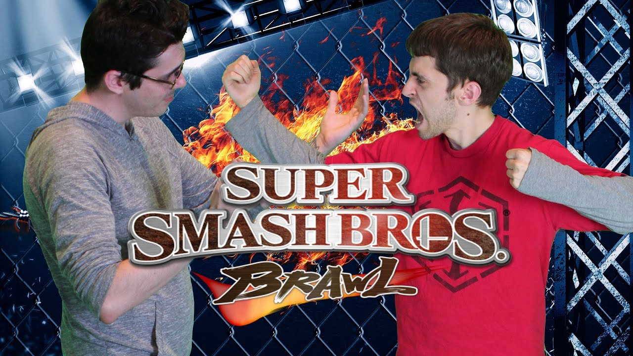 Smosh Games Battle!!!  That girl he scared away