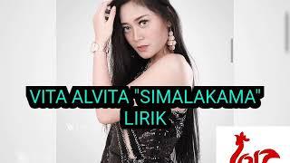 "Gambar cover Vita Alvita ""SIMALAKAMA"" lirik"