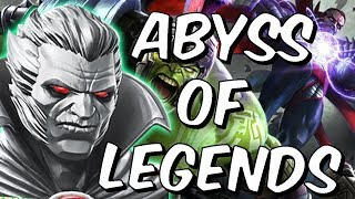 Abyss of Legends - Day #1 Completion Attempt - Marvel Contest of Champions