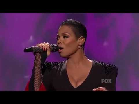 Janet Jackson American Idol Nothin & Again Live 2010