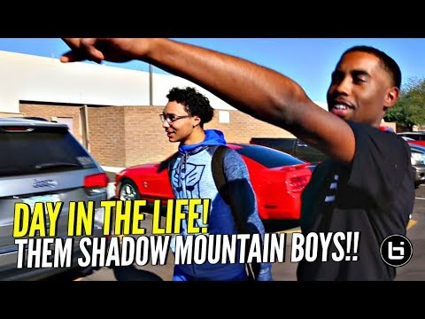 Day In The Life w/ Them SHADOW MOUNTAIN BOYS!!! Chillin' w/ The Most Exciting Team In Nation!