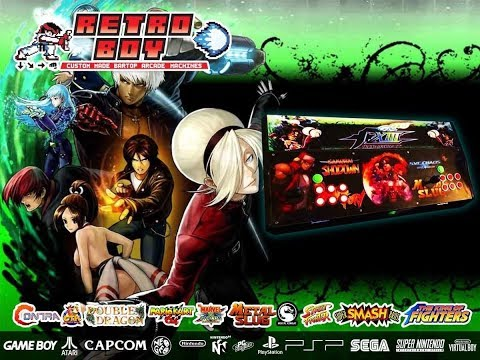The King Of Fighters / SNK Arcade Fighting Stick with Hyperspin 18,000 games! Preview & consoles - 동영상