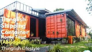 Shipping Container Home Tour - Abridged Version - Thinglish Lifestyle