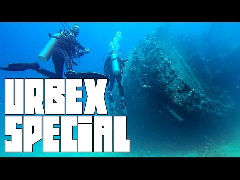 SHIPWRECK, CAVE DIVING, SHARKS & MORE - GoPro Underwater Exploration  | Urbex Special #5