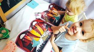 vlog про первый год в дет саду, уборка прихожей, ароматная книга - Senya Miro