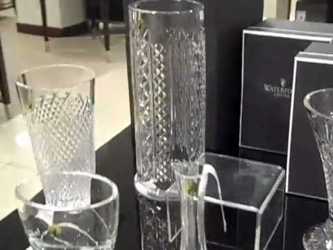 Waterford Crystal Vases Floral Designs By Nisha Youtube
