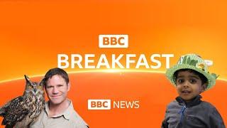 BBC Breakfast News - Aneeshwar with Steve Backshall